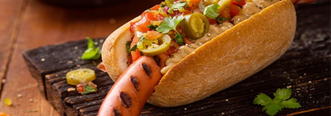 Classic Gluten Free Hot Dog, 115 mm