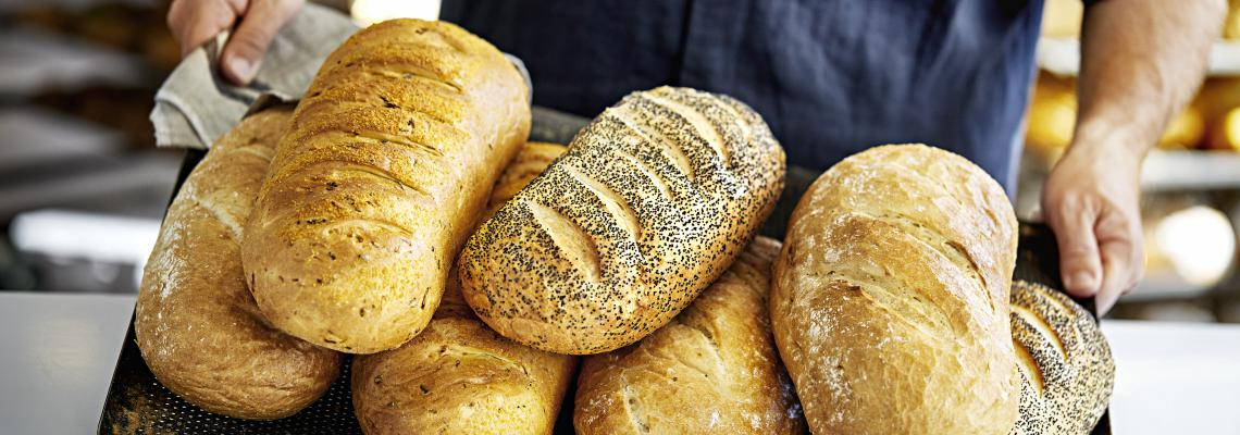 French poppy seeds bread