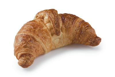 Curved croissant ready baked 65g