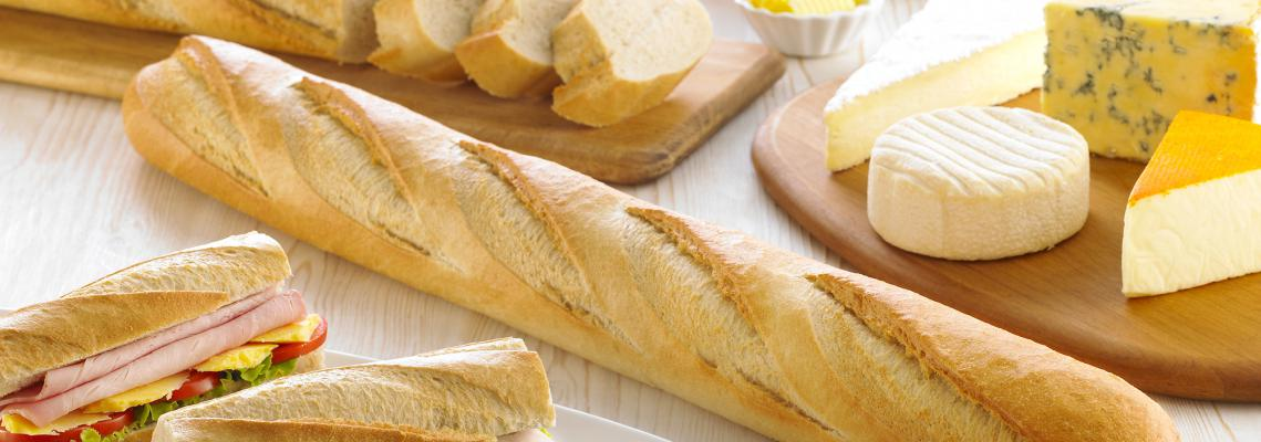 Part Baked White Fluted Baguette